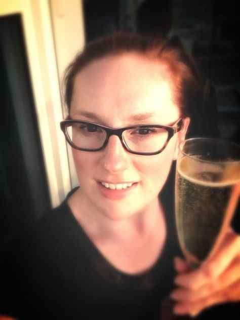 New glasses and a cheeky weekend aperitif...!