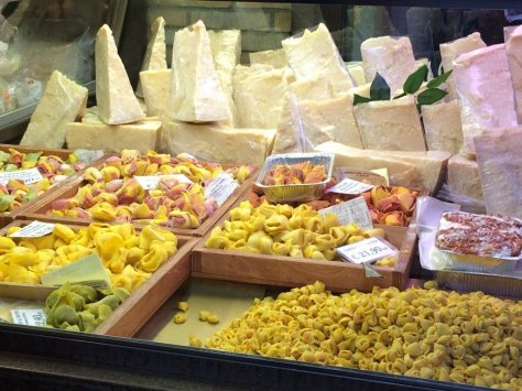 Cheese and pasta galore!