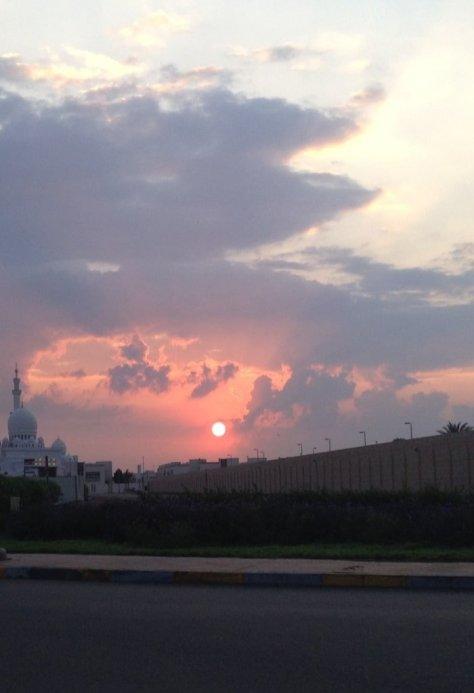 Magnificent sunrises