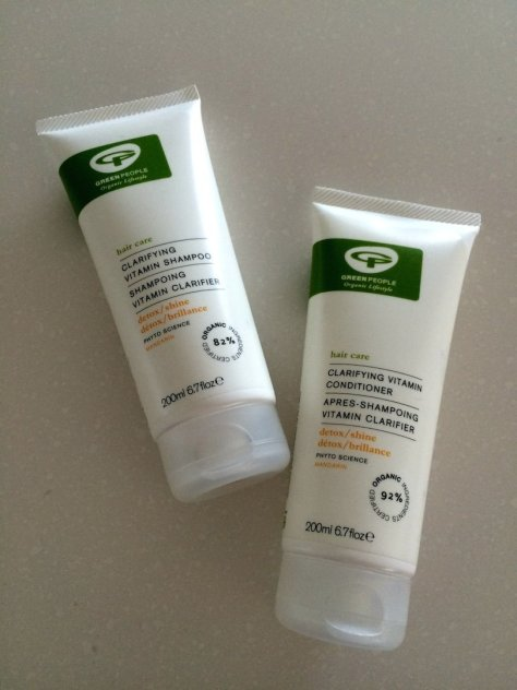 Green People Clarifying Shampoo and Conditioner