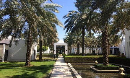 A weekend at The Chedi, Muscat