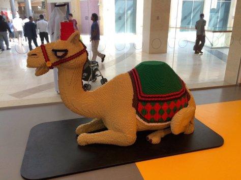 It's Lego! It's a camel!