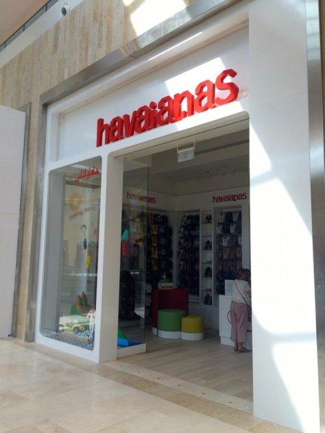 A proper Havaianas shop!