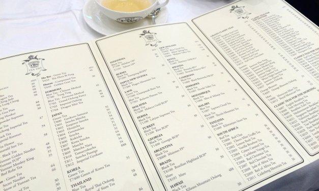 Afternoon Tea at the TWG Tea Salon, Abu Dhabi