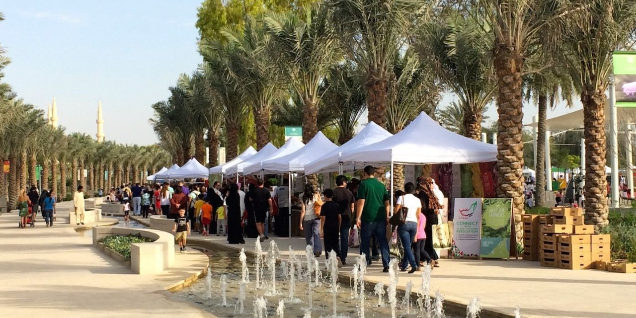 Ripe Market at the new Mushrif Central Park
