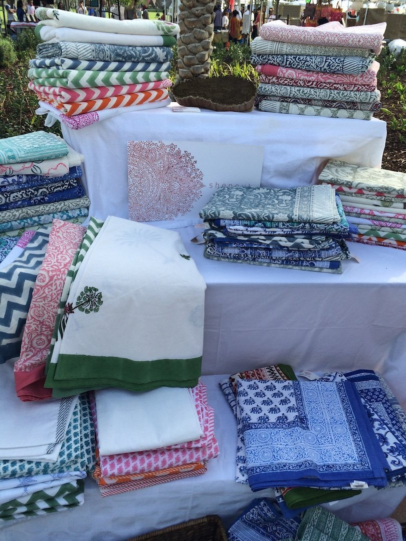 Gorgeous linens from Shenouk