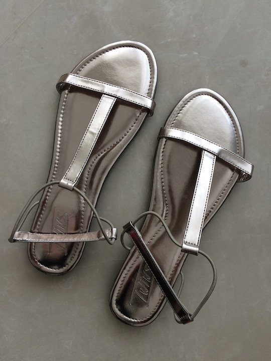 My new sandals!