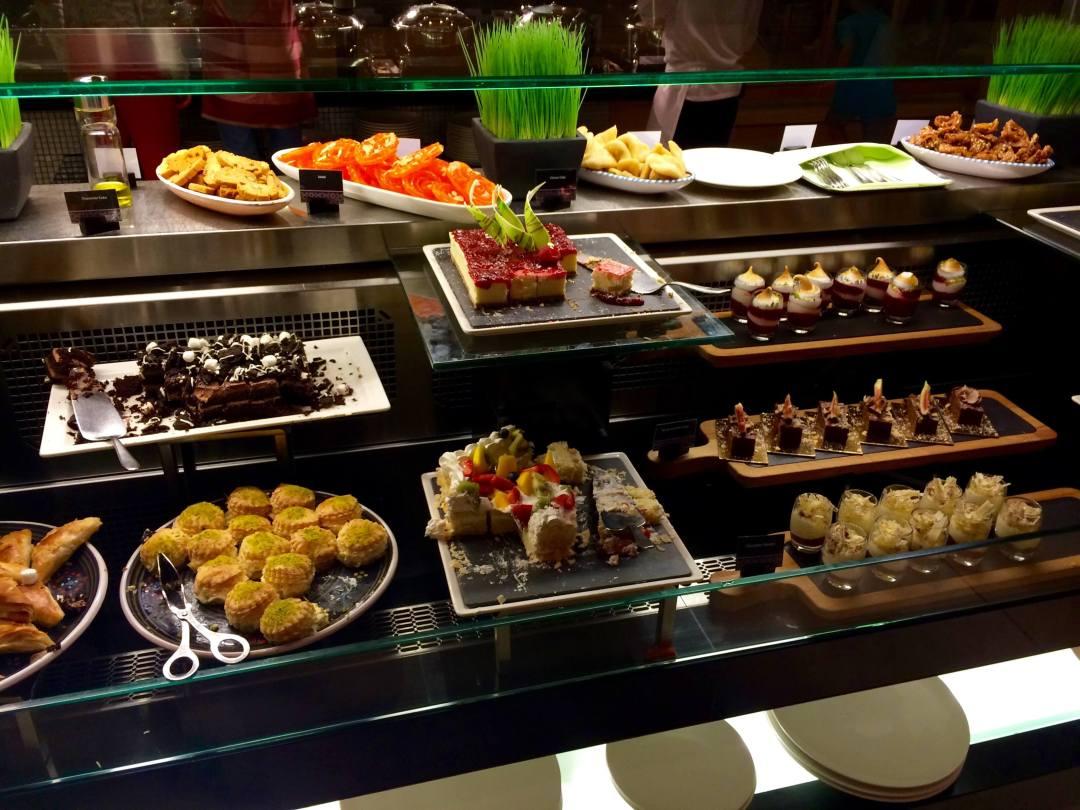 Desserts at Ginger, Park Rotana