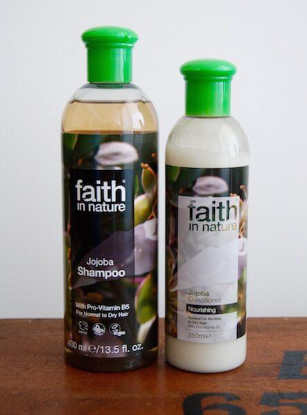 Faith in nature jojoba shampoo and conditioner