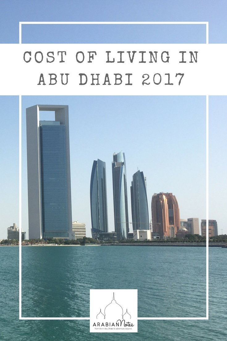 Cost of Living Abu Dhabi 2017: what's up, what's down and what's stayed the same.