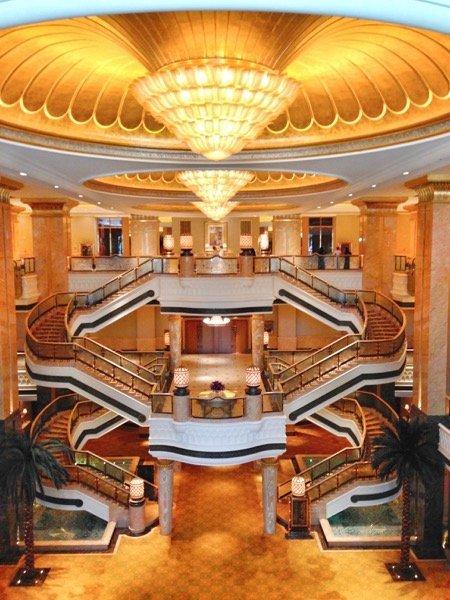 Emirates Palace interior Arabian Notes