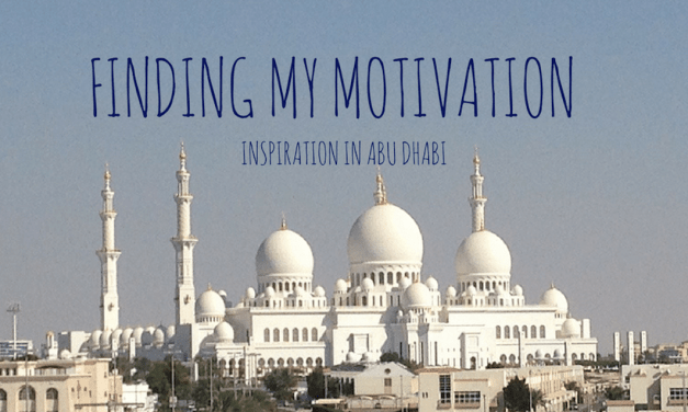 Finding my Motivation: Inspiration in Abu Dhabi