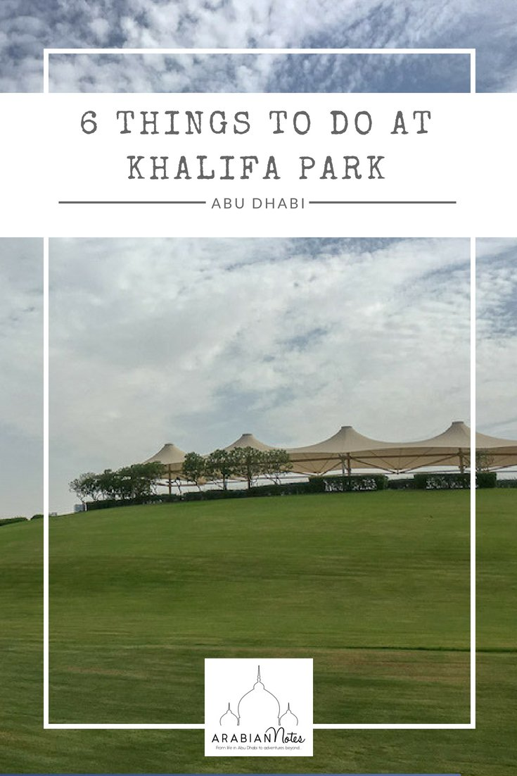 6 Things for Families to do at Khalifa Park
