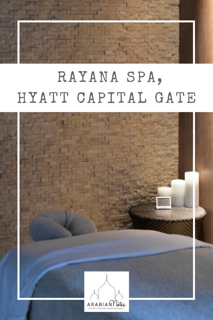 Rayana Spa, Hyatt Capital Gate Abu Dhabi: despite having won an award for 'Best Luxury Spa', Rayana Spa remains a hidden gem and calming haven in the city.