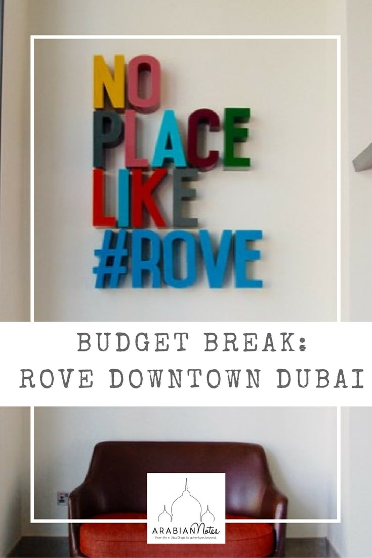 City Break: Rove Hotel Downtown Dubai and The Bench Brunch. The perfect place for a busy weekend in Dubai with style and comfort on a budget.