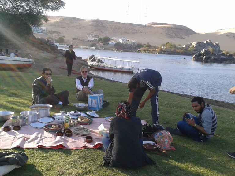 Sehel or Seheil Island, Nubian location next to Aswan in Egypt