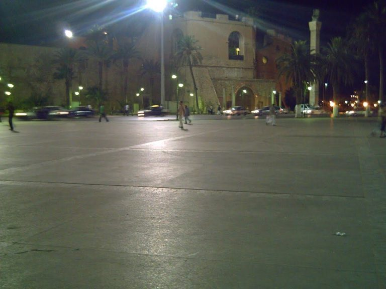 The Martyrs' Square, Tripoli, Libya