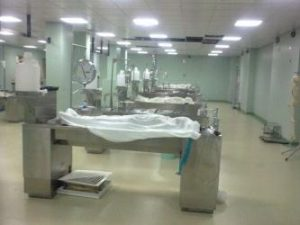 Morgue in Egypt