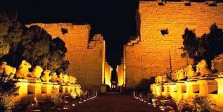 Corridor of Sphinxes, Luxor, Karnak, Egypt