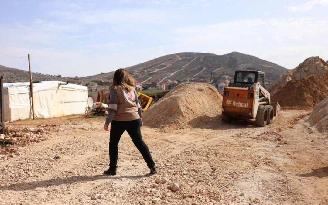 مشروع حماية الأطفال ينفذ مبادرة في مركز عامل في كامد اللوز