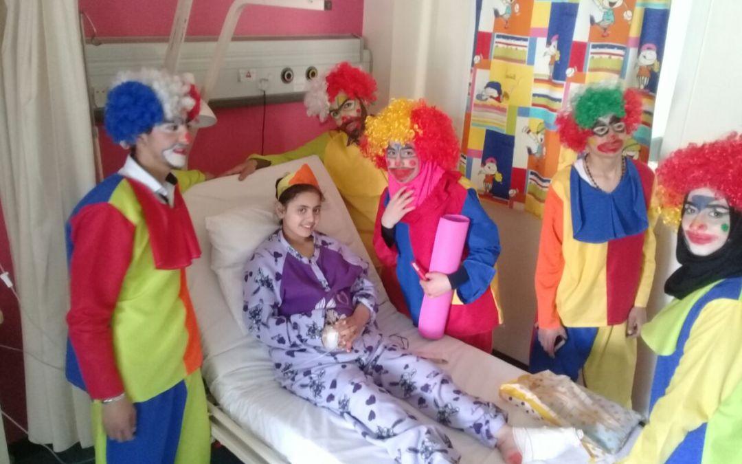 مركز عامل في الشياح ينظم يوماً ترفيهياً لقسم سرطان الأطفال في مستشفى رفيق الحريري الجامعي