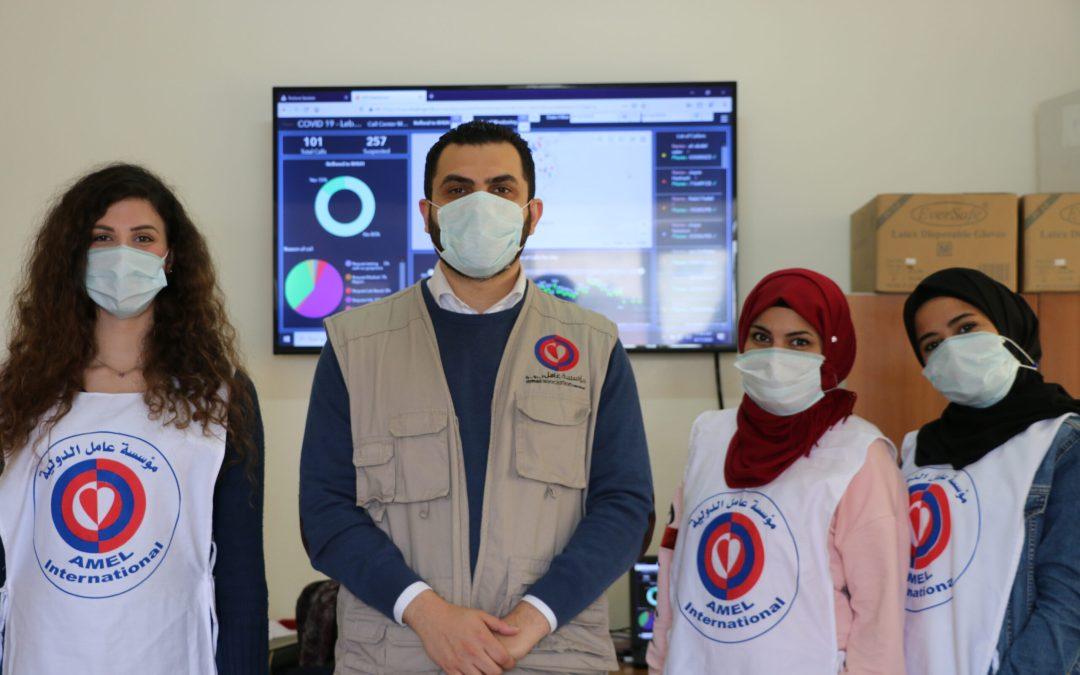 كن على اطلاع لتكن بأمان: تجربة فريق عامل في غرفة الاتصالات الخاصة بفيروس كورونا