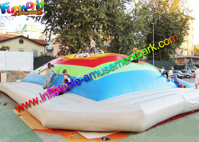 giant inflatable sports games air bouncing jumbo jumper air pillow