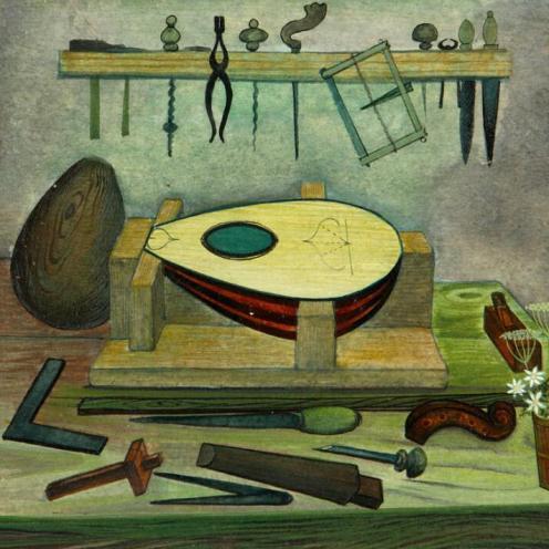 Jellāl Ben ʻAbdallah atelier du luthier