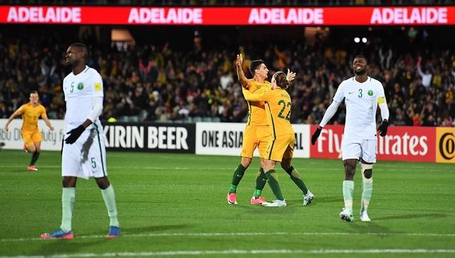 تصفيات كأس العالم 2018 أستراليا تقهر السعودية بثلاثية سبورت 360