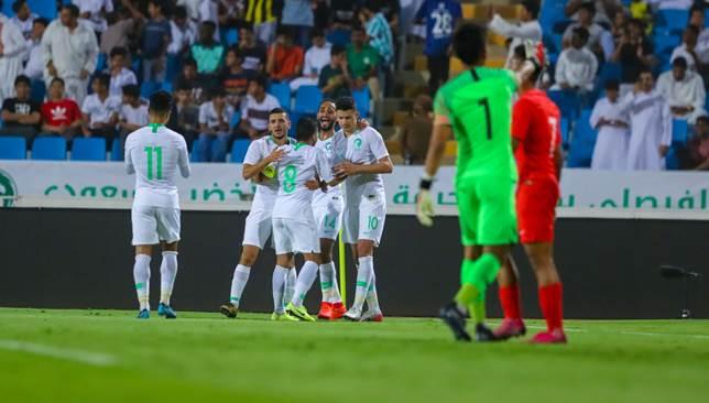 موعد وتوقيت مباراة المنتخب السعودي القادمة ضد فلسطين