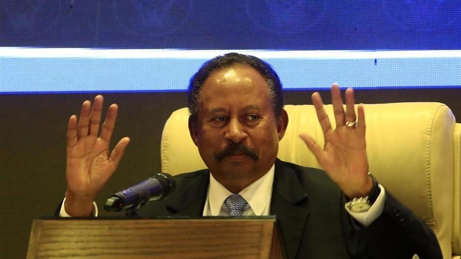 رئيس الوزراء السوداني عبد الله حمدوك (صورة أرشيفية)