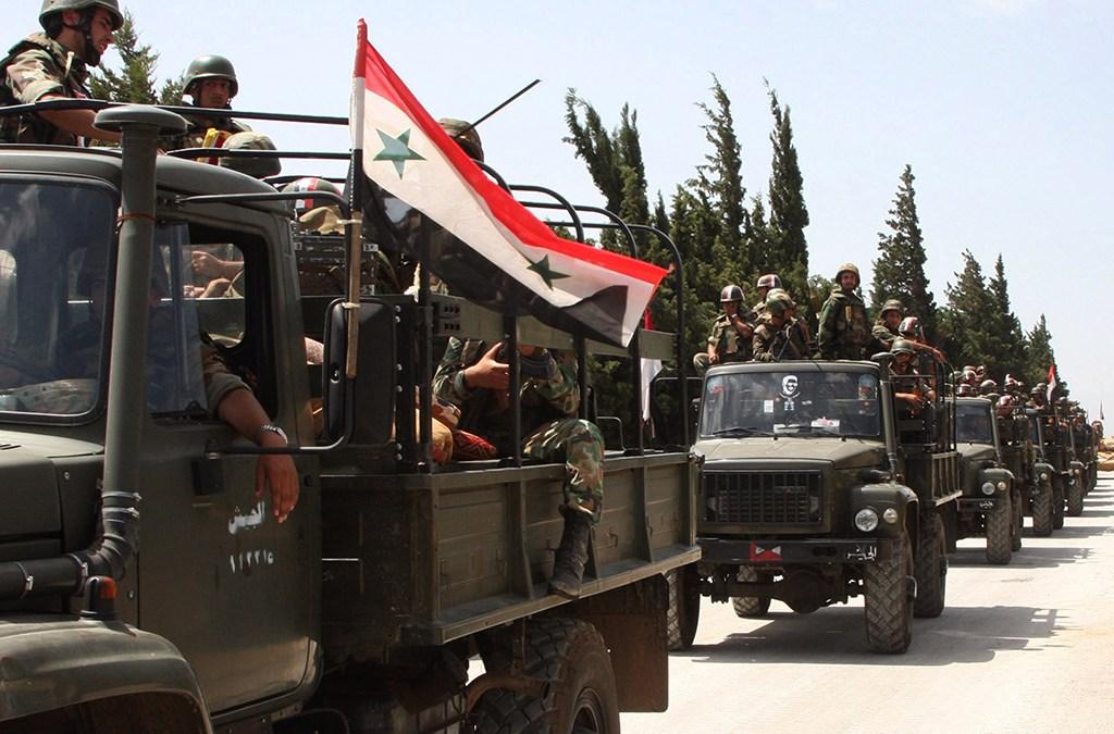الدفاع الروسية: القوات السورية نجحت بتطهير البلاد من الإرهابيين
