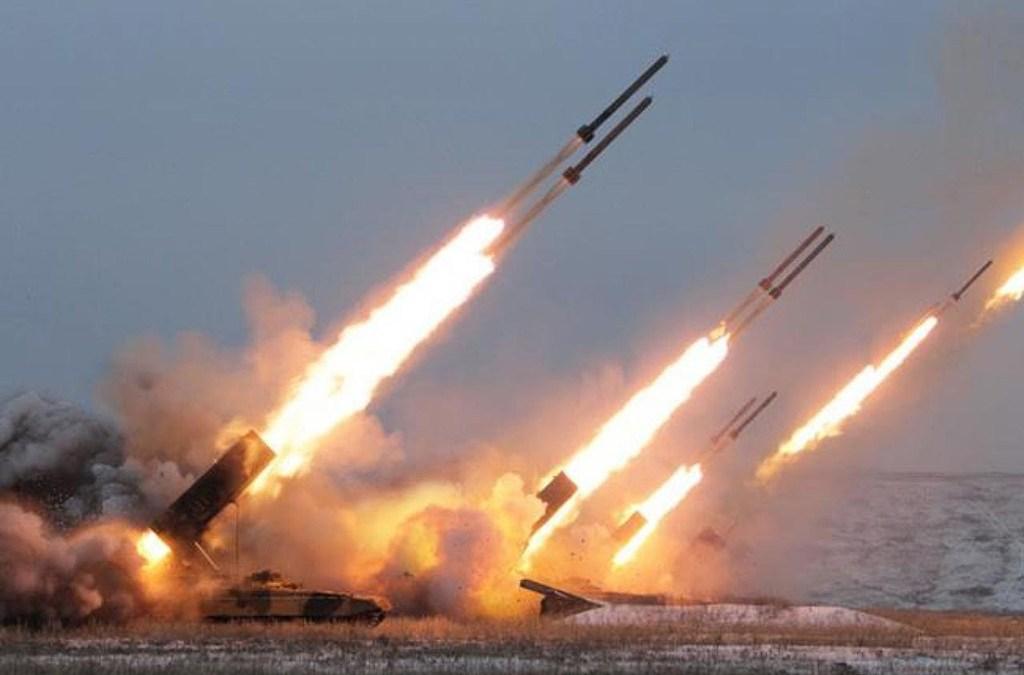 مراكز العدو العسكرية تشتعل في الجولان بقصف من الاراضي السورية ليلاً