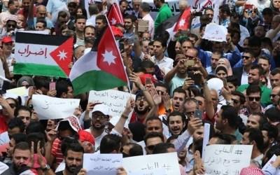 تجدّد التظاهرات في العاصمة الأردنية عمّان