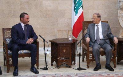 عون: إهتمام أمير الكويت بلبنان يعكس حرصه على دعمه اقليميا ودوليا