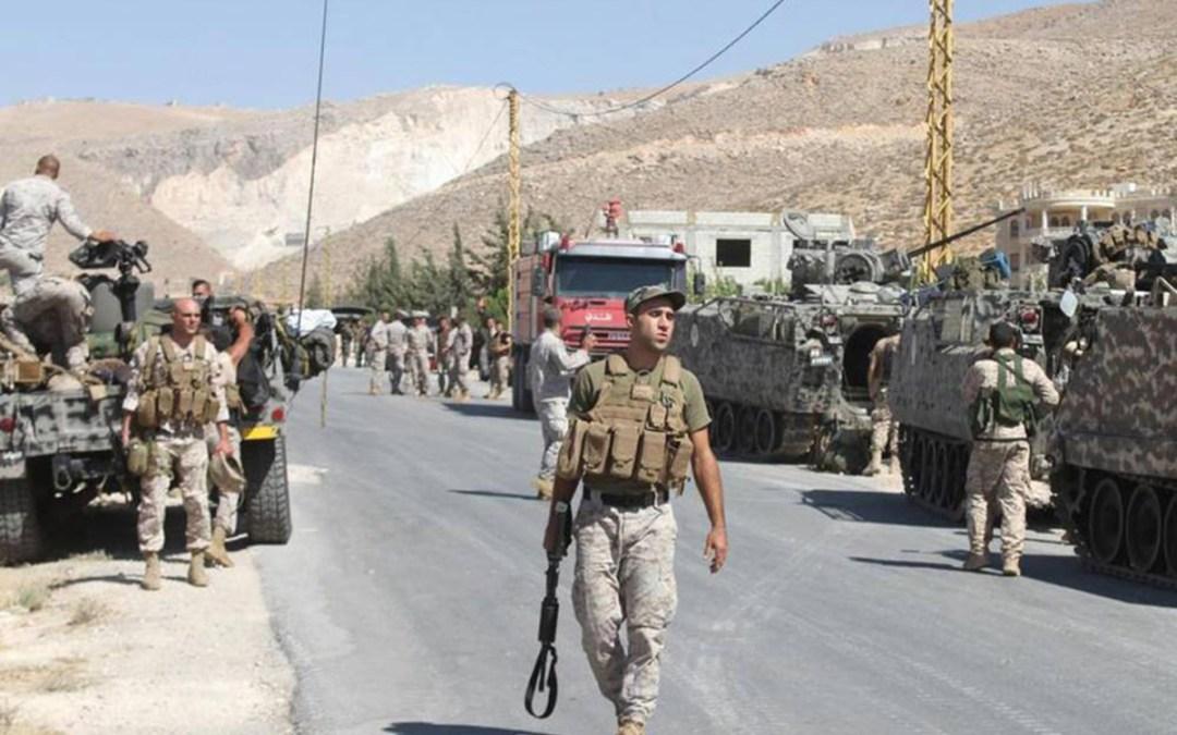 """الجيش اللبناني يقتل قائد الخلية الارهابية """"خالد التلاوي"""" ويستمر بملاحقة مساعديه الاثنين"""