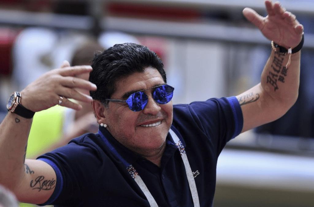 الفيفا دان تصريحات مارادونا ضد الحكم الاميركي