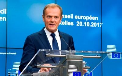 توسك: قمة أوروبية في 25 ت2 لتوقيع اتفاق بريكست