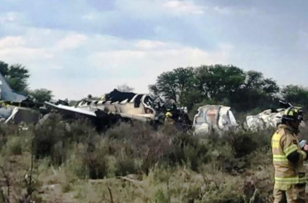 85 جريحا جراء تحطم طائرة ركاب لدى إقلاعها في شمال المكسيك