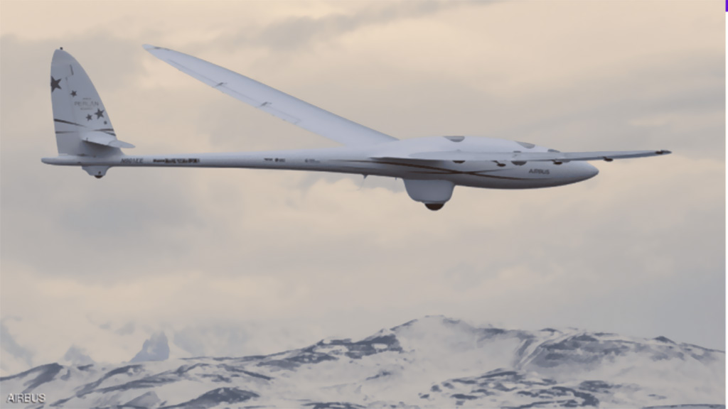 طائرة جديدة تحقّق أعلى ارتفاع في تاريخ طيران المركبات