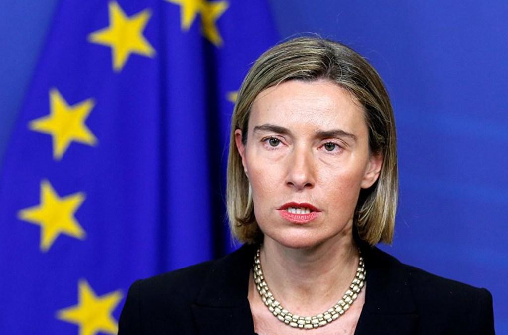 موغيريني: الاتحاد الأوروبي سينشىء كيانا للالتفاف على العقوبات الأميركية على إيران