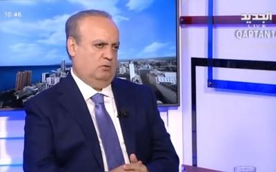 """وهاب لقناة """"الجديد"""": جنبلاط أفشل الطرح الذي تقدّم به الرئيس برّي لحل حادثة قبرشمون"""