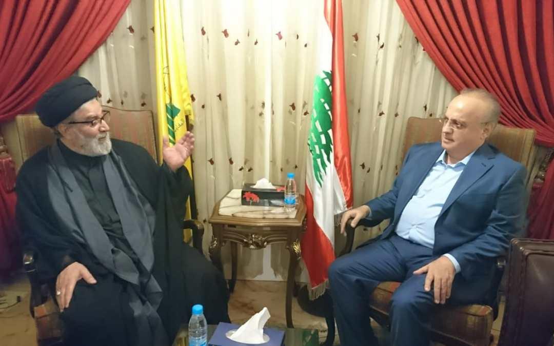 وهاب بعد زيارته سماحة السيد إبراهيم أمين السيد:  ليخرج الحريري من بعض الإلتزامات التي تنعكس سلباً على لبنان وتشكيل الحكومة في أقرب وقت ممكن