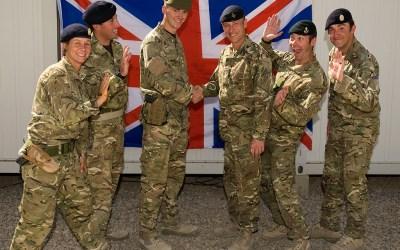 الجيش البريطاني يفتح أبوابه للأجانب خارج البلاد