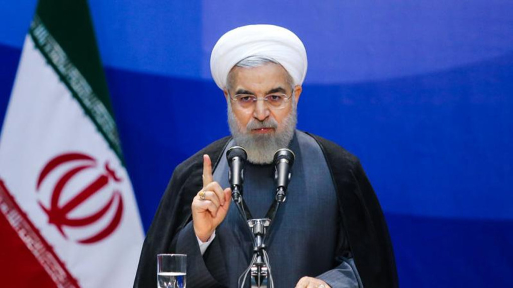 روحاني يؤكد موافقة إيران على التفاوض مع واشنطن ويحدد الشروط