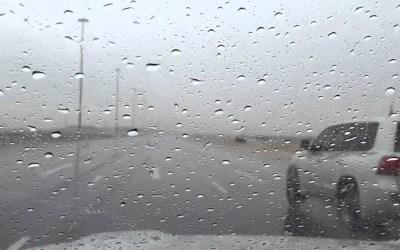 امطار غزيرة في عكار