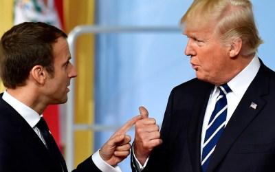 ماكرون ردا على انتقادات ترامب: الاحترام واجب بين الحلفاء