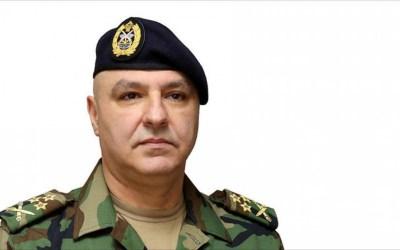 قائد الجيش في أمر اليوم: سنواجه أي محاولات للعبث بالسلم الأهلي أو إخلال بالأمن أو ضرب العيش المشترك