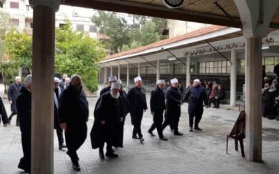 مجلس تأبيني للشهيد البطل محمد ابو دياب في جرمانا