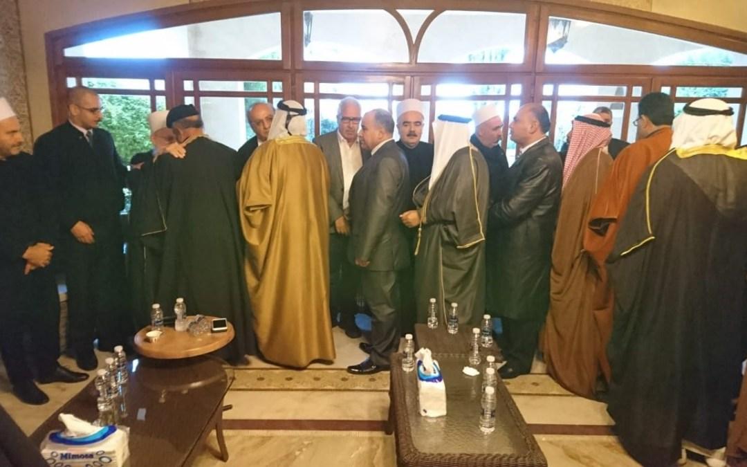 وهاب يواصل تقبل التعازي لليوم الخامس على التوالي بالشهيد محمد ابو ذياب